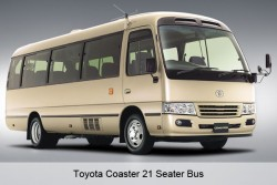 Guangzhou Private Transfer: Guangzhou City Proper Area by 21 Seater Bus