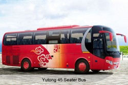 Guangzhou Private Transfer: Guangzhou City Proper Area by 45 Seater Bus with Guide
