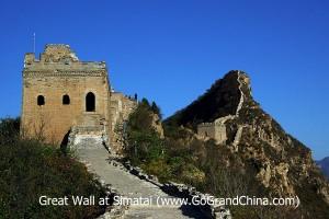 Hiking the Great Wall from Jinshanling to Simatai