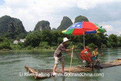 Li River Rafting & Xingping Ancient Town Tour
