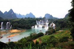 Nanning Deteian Waterfall
