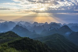 Guilin Yaoshan Mountain