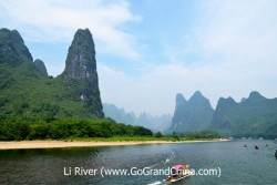 Guilin Private Day Tour: Li River Cruise, Yangshuo West Street & Reed Flute Cave