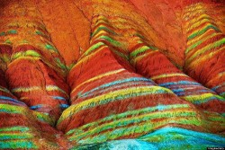 Zhangye Rainbow Colored Mountain