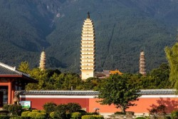 Three Pagodas of Chongsheng Temple, Dali