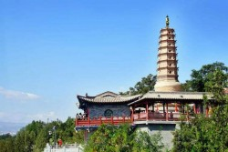 Lanzhou White Pagoda Hill