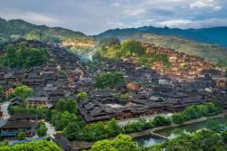 Xijiang Qianhu Miao Nationality Village