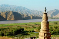 Qingtongxia 108 Stupas
