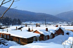 China Snow Town (Shuangfeng Forest)