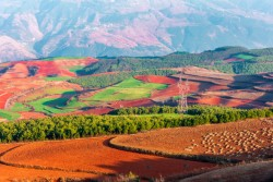 Dongchuan Red Land, Kunming