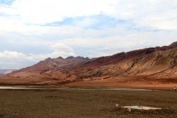 Turpan Flaming Mountain