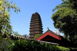 Xian Little Wild Goose Pagoda