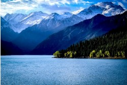 The Heavenly Lake of Mount Tianshan